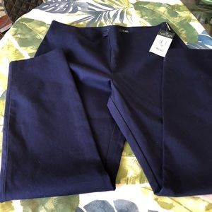 Lauren NWT navy blue pants